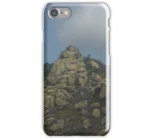 a desolate Macedonia landscape iPhone Case/Skin
