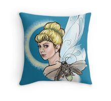 Tink and Blaze Throw Pillow