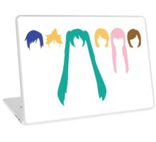 Vocaloid Heads (white) Laptop Skin