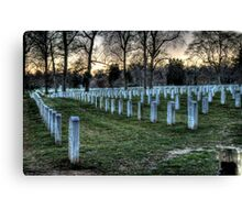 Hallowed Ground Canvas Print