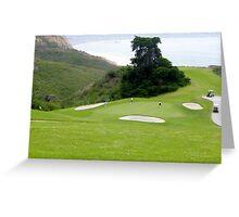 Torrey Pines Golf Course ~ La Jolla, California Greeting Card