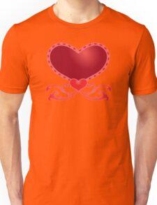 Big Red Heart Unisex T-Shirt