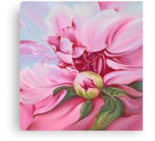 """The Peony"" Canvas Print"