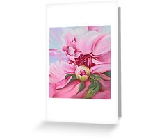 """The Peony"" Greeting Card"