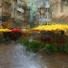 Yellow Umbrellas by Dennis Granzow