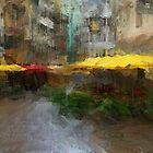 Yellow Umbrellas by Dennis Granzow