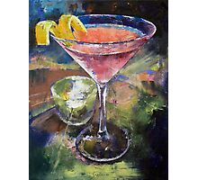 Martini Photographic Print