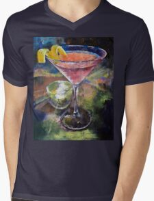 Martini Mens V-Neck T-Shirt
