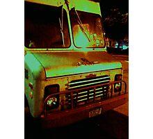 Truck Lower East Side, NYC Photographic Print