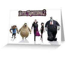 hotel translyvania 2 Greeting Card