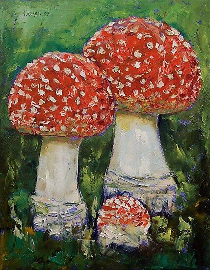 Mushrooms by Michael Creese