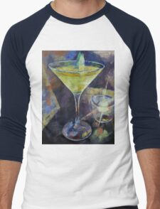 Appletini Men's Baseball ¾ T-Shirt