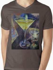 Appletini Mens V-Neck T-Shirt