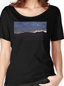 Mountain Sunset Women's Relaxed Fit T-Shirt