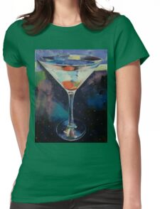 Bombay Sapphire Martini Womens Fitted T-Shirt