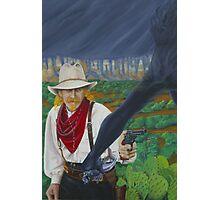 Cowboy Up! Photographic Print