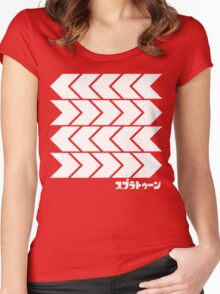 Splatoon Takoroka Red Vector Tee Women's Fitted Scoop T-Shirt