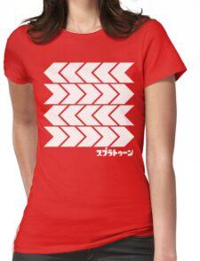 Splatoon Takoroka Red Vector Tee Womens Fitted T-Shirt