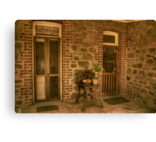 The Side Entry Canvas Print