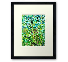 ANAHATA - energies open within me - Framed Print