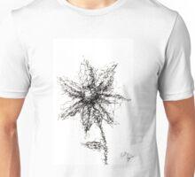 Scribbled Flower Unisex T-Shirt