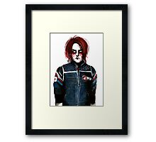 the aftermath is secondary (gerard way / my chemical romance) Framed Print