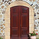 Mansion Doorway by Nickolay Stanev