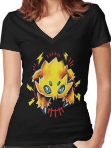 Joltik  Women's Fitted V-Neck T-Shirt