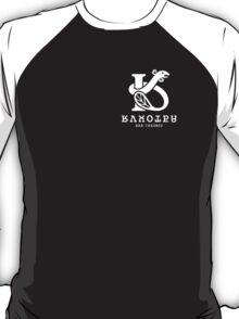 Splatoon Rockenberg Black Baseball LS Tee T-Shirt