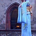 Milan. Madame Butterfly Statue at Castello Sforzesco. Italy 2010 by Igor Pozdnyakov