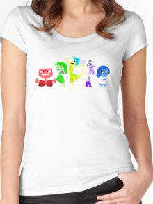 Inside Out Women's Fitted Scoop T-Shirt