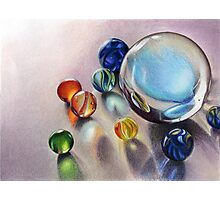 Marbles  Photographic Print