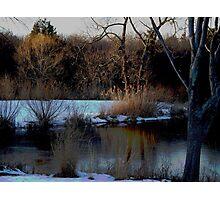 Winter on Echo Lake  Photographic Print