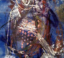Blue #6 by Mariam Muradian