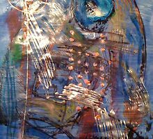 Blue #4 by Mariam Muradian