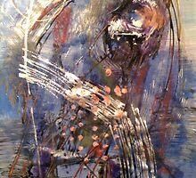 Blue #3 by Mariam Muradian