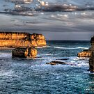 Shipwreck Coast - Great Ocean Road , Victoria Australia - The HDR Experience by Philip Johnson