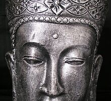 Buddha head by bevy111