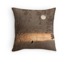 Bright Spot In The Gloom Throw Pillow