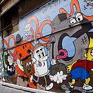 Hosier lane,Melbourne by Rosina  Lamberti
