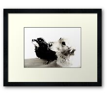 Jess and Leo Framed Print