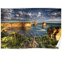 Shipwreck Coast  - Twelve Apostles, Great Ocean Road - The HDR Experience Poster