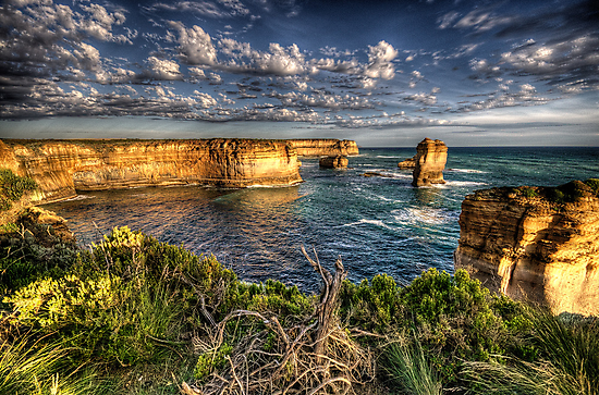 Shipwreck Coast  - Twelve Apostles, Great Ocean Road - The HDR Experience by Philip Johnson