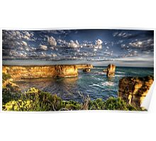 Cloudy Bay - The Twelve Apostles - The HDR Experience Poster