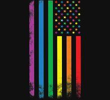 Rainbow American Flag T-Shirt