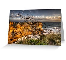 Reach For The Sky - Great Ocean Road - The HDR Experience Greeting Card