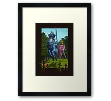 The Hunting Party of the Gods Framed Print