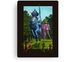 The Hunting Party of the Gods Canvas Print