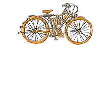 Steam Punk Cycling Photographic Print