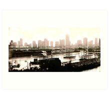 Miami 3 Art Print
